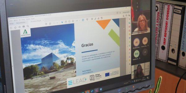 Presentación de materiales proyecto Elead
